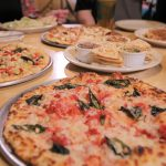 pizza, appetizers, and desserts from 5757 pizzeria in amarillo